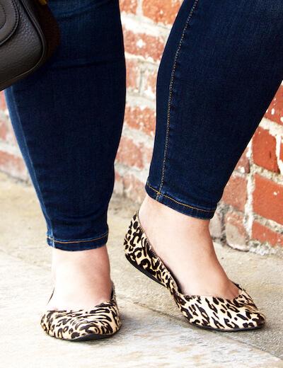 Plus size leopard print shoes   Dia&Co