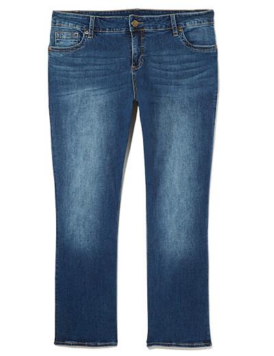 Plus Size Bootcut Jeans | Dia&Co