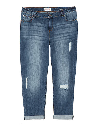 Plus Size Boyfriend Jeans | Dia&Co