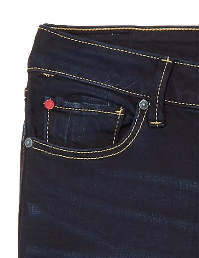Rivets on plus size jeans | Did&Co