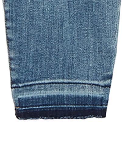 Released hem plus size denim | Dia&Co