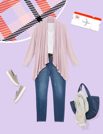 travel-outfit-cardigan-denim