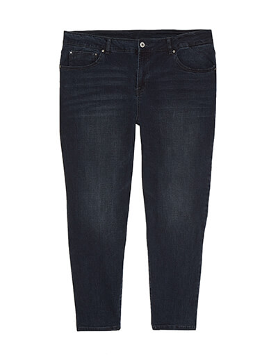 Plus Size Dark Wash Jeans | Dia&Co