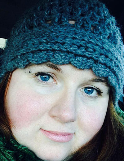 resolutions velma lou blue hat
