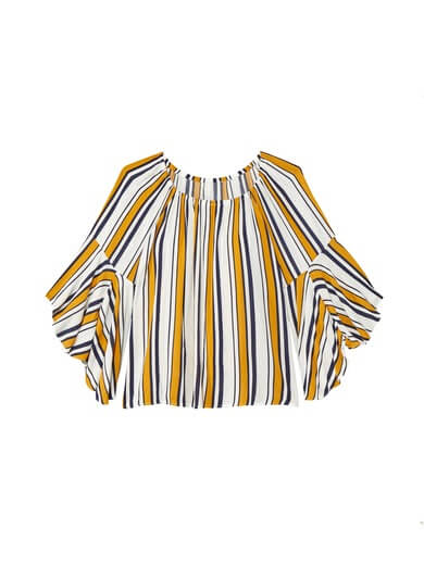 plus size blouse with bell sleeves