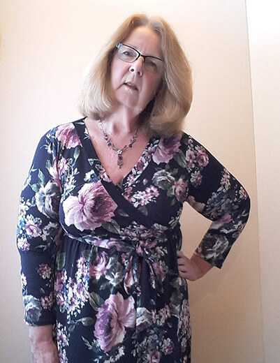 dressing for your age plus-size floral wrap dress