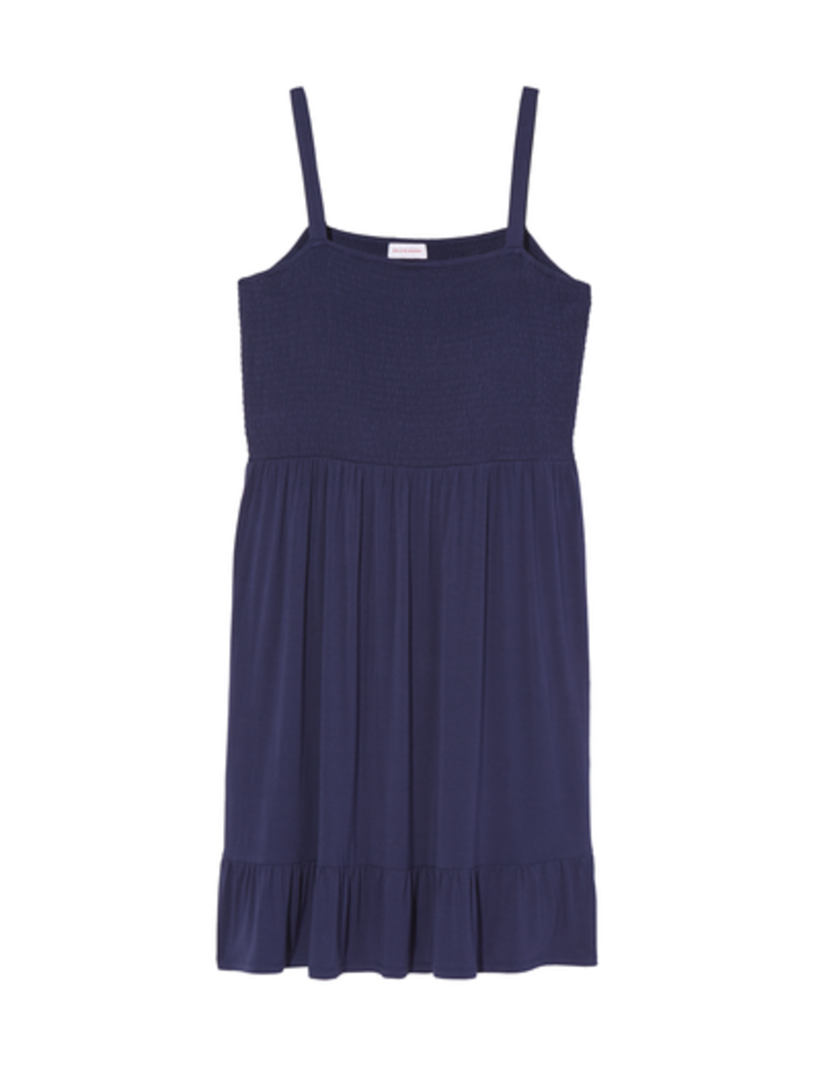 4th of july plus size smocked navy dress