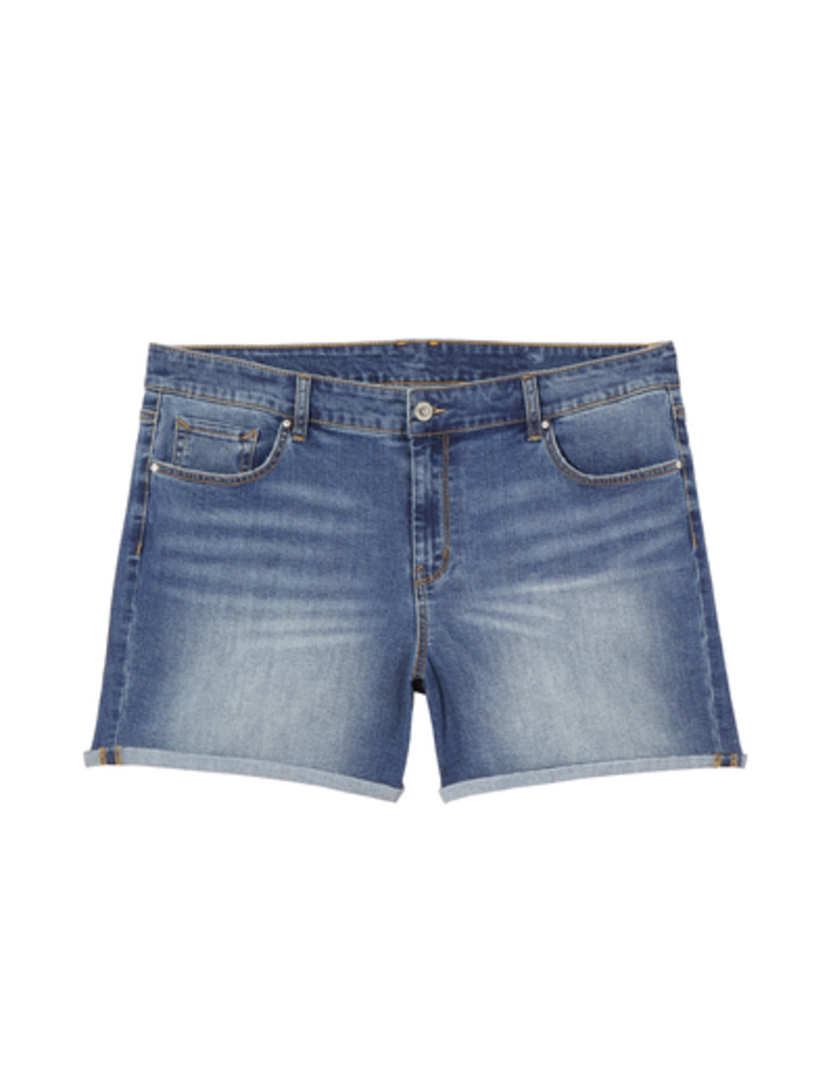 plus size shorts rolled up denim shorts