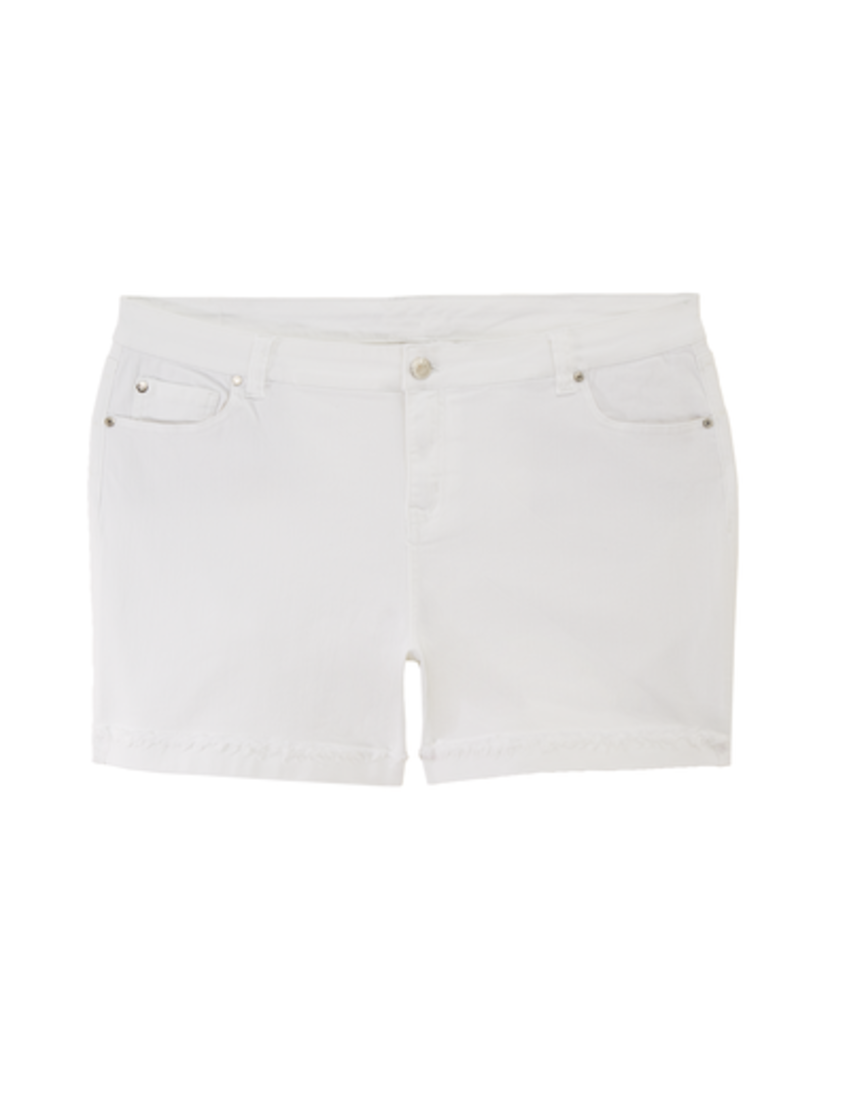 4th of july plus size white shorts