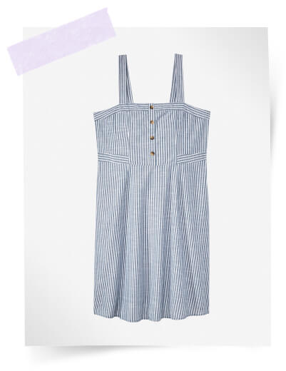 what to pack for vacation plus size seersucker dress