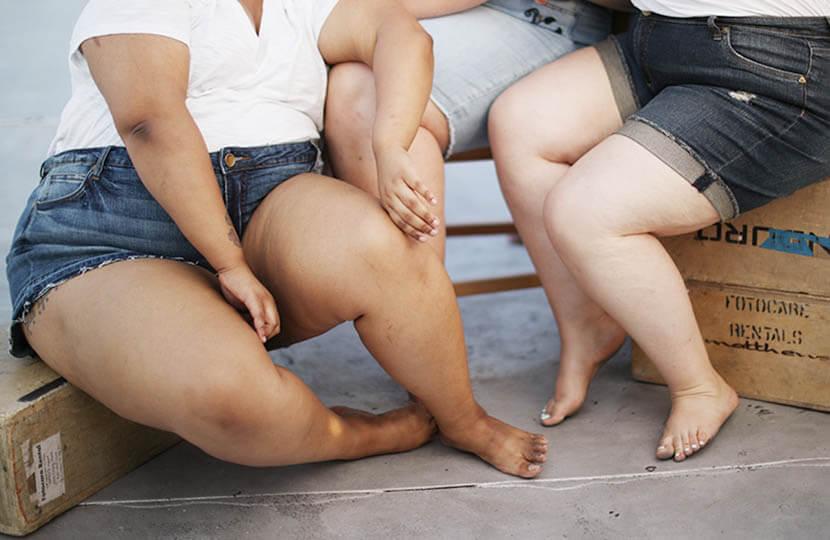 plus size women's legs