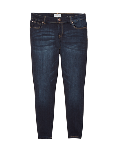 plus-size denim for fall skinny jeans
