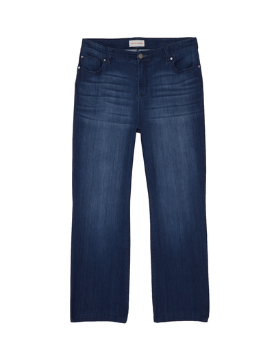 plus-size denim for fall bootcut jeans