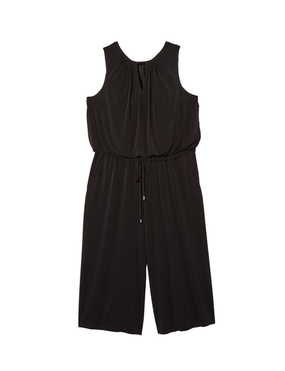 plus size black jumpsuit