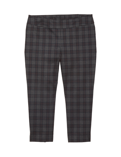 fall fashion 2019 plus size plaid ankle pants