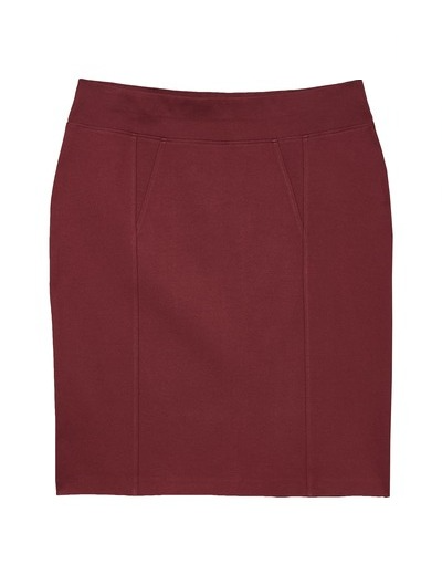 fall fashion 2019 plus size burgundy pencil skirt