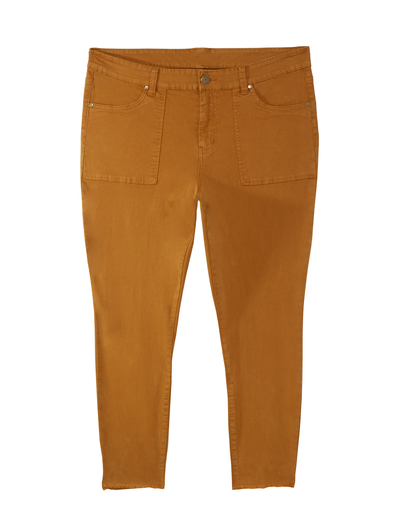 plus size yellow pants