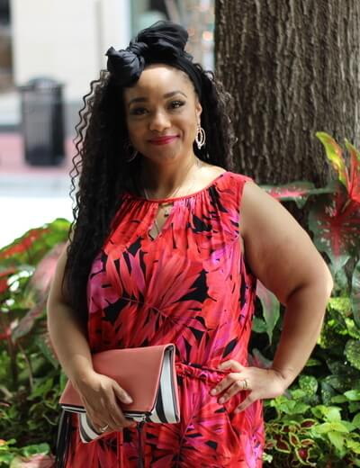 plus size red and black printed jumpsuit