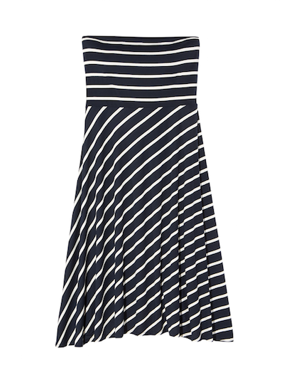 plus size strapless maxi dress that converts to a skirt