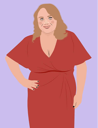 illustration of Danielle Macdonald