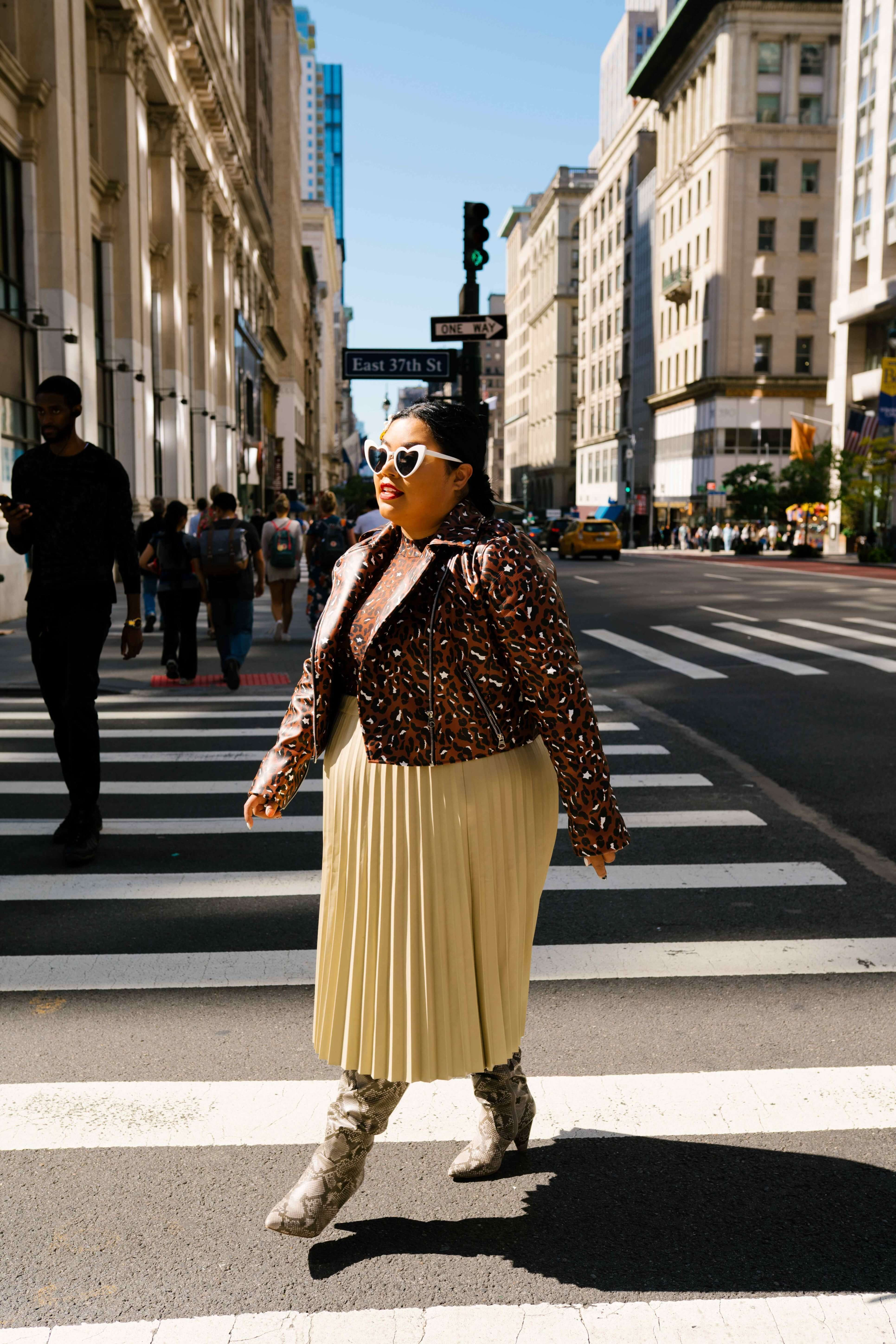 plus size street style candice