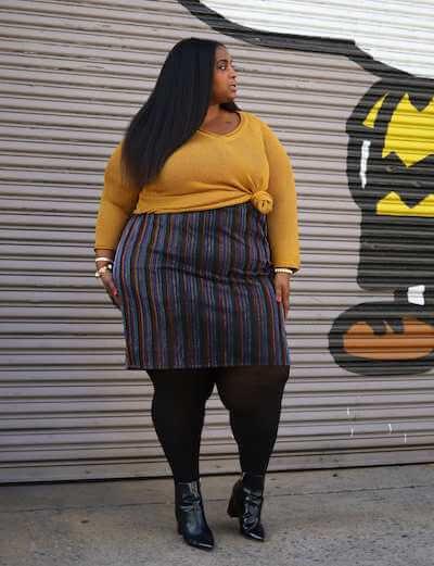 Mustard sweater lalala