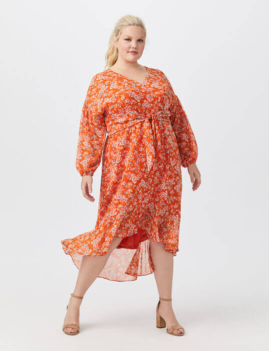 Check out these fabulous plus-size dresses to wear to a wedding | Dia&Co