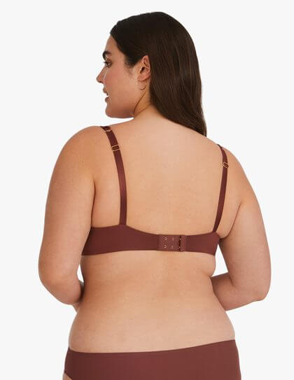 Sienna colored plus size t-shirt bra by ThirdLove