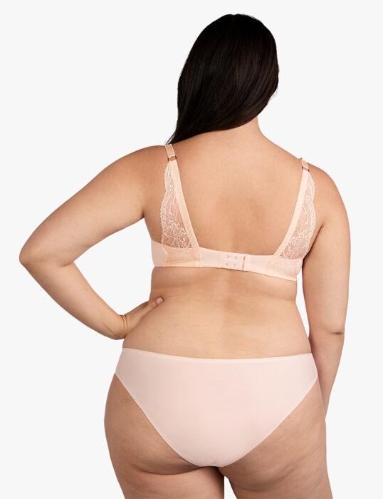 ThirdLove cotton stretch bikini on Dia & Co
