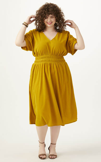 Transitional fall style for sizes 10 to 32  Dia & Co