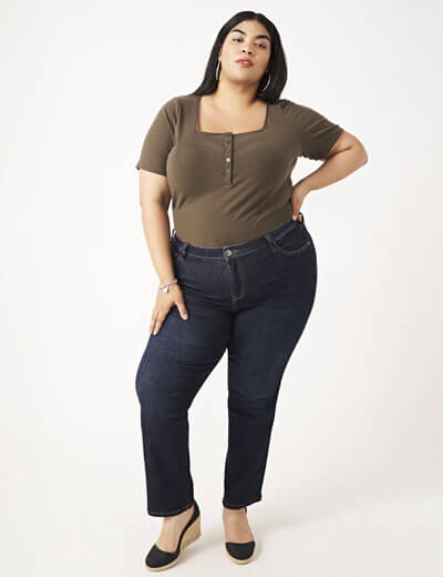 Curvy jeans for sizes 10-32| Dia & Co