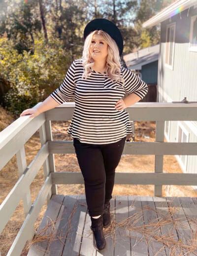 Plus-size fall fashion for sizes 10-32  Dia & Co